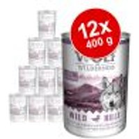 Wolf of Wilderness Adult 12 x 400 g Mix: Agnello e Anatra
