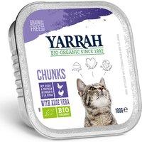 Yarrah Bouchée en sauce Bio 6 x 100 g - poulet, bœuf