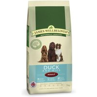 James Wellbeloved Adult - Duck & Rice - 15kg + 3kg Free!