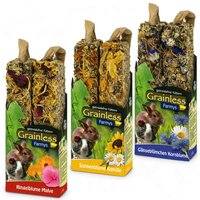 Jr Farm Farmys Grainless Mixed Pack - 3 x 2 Sticks (3 flavours each 140g)