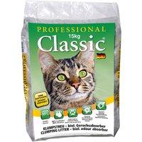 Litière Professional Classic avec absorbeur d'odeurs - 15 kg