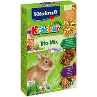 Vitakraft Dwarf Rabbit Cracker Sticks Trio-Mix - 3 x 3 Pack (Vegetables, Grapes, Forest Berries)