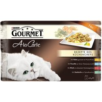 Gourmet A La Carte Mixed Pack 4 x 85g - Duck, Poultry, Sardine, Trout
