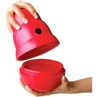 KONG Wobbler Snack Ball - Large: 19 x 13 cm