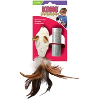 KONG Feather Mouse with Catnip - 1 Toy