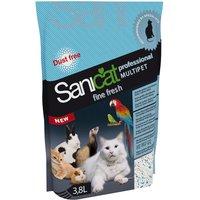 Sanicat Professional Multipet Fine Fresh - Economy Pack: 3 x 3.8l