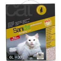 Sanicat Clumping Gold arena aglomerante para gatos - 3 x 6 l - Pack Ahorro