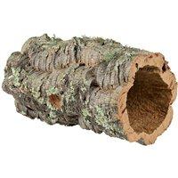 Tunnel en liège pour lapin nain, rongeur et reptile - 10-14 cm de diamètre (taille M)