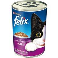 Felix Emincés en gelée 6 x 400 g - poulet