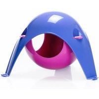 Sputnik Hanging Den - lilac / pink