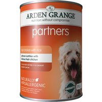 Arden Grange Partners - Chicken, Rice & Vegetables - 6 x 395g