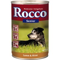 Rocco Senior 6 x 400g - Poultry & Oats