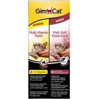 Lot de pâtes GimCat Multi & Malt - 2 x 50 g