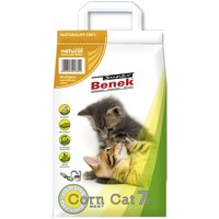 Super Benek Corn Cat Clumping Litter Economy Packs 3 x 7 Litres - Fresh Grass