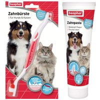 Beaphar Toothbrush + Toothpaste Set - Special Price!* - 100g toothpaste + 1 toothbrush
