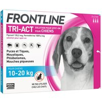FRONTLINE TRI-ACT Chien, 10 - 20 kg - 6 pipettes