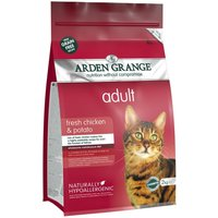 Arden Grange Chicken & Potato - Adult Cat - Economy Pack: 2 x 4kg
