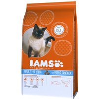 Iams Proactive Health Adult Cat with Fish & Chicken Dry Cat Food - Economy Pack: 2 x 10kg