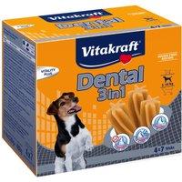 Vitakraft Dental 3in1 small Multipack - 4 x 120g