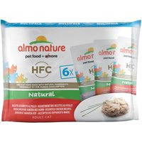 Almo Nature HFC - Pack mixto: pollo 6 x 55 g
