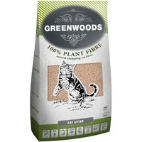 Greenwoods Natural Clumping Litter - Economy Pack: 2 x 30l