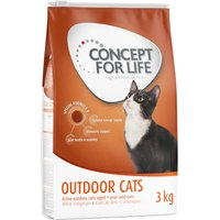 Concept for Life Outdoor Cats - 12 x 85g All Cats in Jelly
