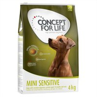 Concept for Life Mini Sensitive - Economy Pack: 2 x 4kg