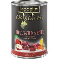 zooplus Selection Saver Pack 12 x 400g - Adult Beef, Pheasant & Goose