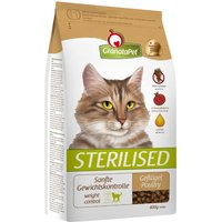 GranataPet Sterilised Poultry Dry Cat Food - 2kg