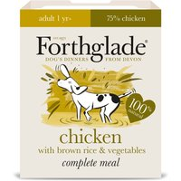 Forthglade Complete Meal Adult Dog - Chicken with Brown Rice - 18 x 395g