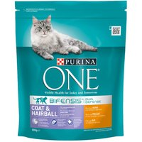 Purina ONE Coat & Hairball Chicken & Whole Grains Dry Cat Food - 3kg