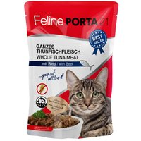 Feline Porta 21 Pouches 6 x 100g - Tuna with Aloe