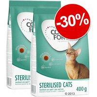 Croquettes Concept for Life Sterilised Cats 2 x 400 g : 30 % de remise ! - 2 x 400 g