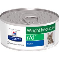 Hills Prescription Diet Feline r/d Weight Reduction - Saver Pack: 24 x 156g