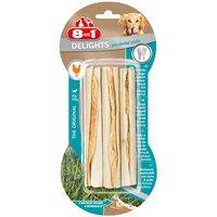 8in1 Delights Pro Dental Twist Sticks - Saver Pack: 2 x 190g (70 Chews)