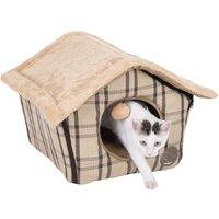 zoolove Sweet Home Cat Den - 40 x 40 x 35 cm (L x W x H)