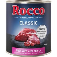 Rocco Classic Saver Pack 24 x 800g - Beef with Salmon