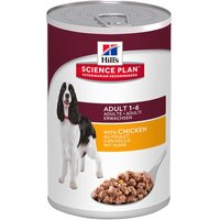 Hill's Science Plan Canine Adult 6 x 370 g - bœuf