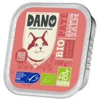 DANO BIO Katze Paté Lachs - 12 x 100 g