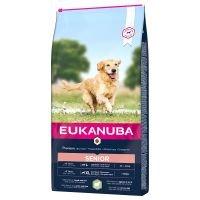 Eukanuba Senior razas grandes y muy grandes, con cordero y arroz - 2 x 12 kg - Pack Ahorro