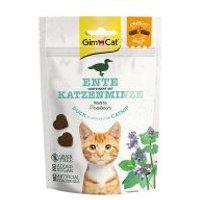 GimCat Crunchy Snacks para gatos - Pato con catnip 50 g
