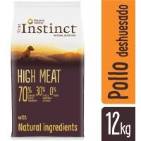 True Instinct High Meat Junior Medium-Maxi con pollo campero - 12 kg