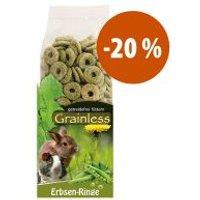 JR Farm Anillos de guisantes sin cereales ¡a precio especial! - 500 g