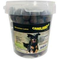 Caniland salchichas de cordero con aroma ahumado snacks para perros - 6 x 500 g - Pack Ahorro