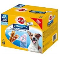 Pedigree Dentastix snacks cuidado dental / frescor 168 uds. - Pack Ahorro - Perros grandes (>25 kg)