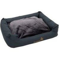 Cama Sleepy Time gris para perros - 100 x 75 x 30 cm (L x An x Al)