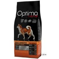 Optimanova Adult Sensitive con salmón y patatas para perros - 12 kg