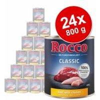 Pack Ahorro: Rocco Classic 24 x 800 g - Vacuno con panza verde