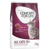 Concept for Life All Cats 10+ - Añadir 12 x 85 g Concept for Life All Cats 10+ en gelatina