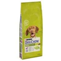 Purina Dog Chow Adult con cordero y arroz - 12 + 2 kg ¡gratis!